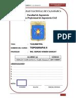 Informe Teodolito Cholan Carhuajulca