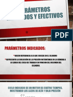 Parámetros Indicados y Efectivos