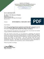 Ecc-ol-r06-2015-0075 Negros Ph Solar Inc 50 Mw Solar