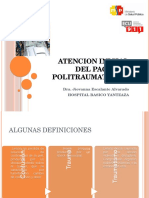 Atencion Inicial PACIENTES POLITRAUMATIZADO