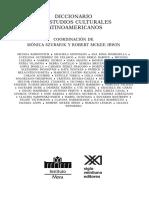 Tarica Heterogeneidad Diccionario.de.Estudios.culturales.latinoamericanos