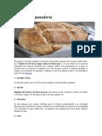 panadería glosario