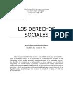 Los Derechos Sociales. Mauro Chacon Lemus Opus Magna II