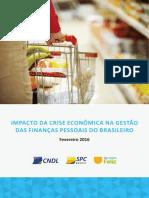 Analise Educacao Financeira Impacto Da Crise