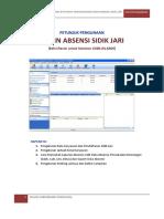 Manual Book Mesin Absen