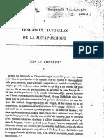 Jean Wahl Vers Le Concret