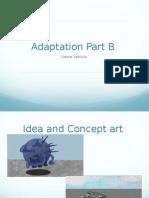 Adaptation Part B Game vehicles
