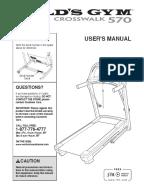 GOLD'S GYM GGTL59606.0 USER MANUAL Pdf Download | ManualsLib