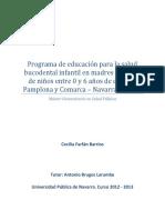 Master Salud Publica Cecilia Farfan