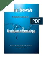 La Memoria Del Agua Jacques Benveniste PDF