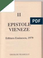 CORNELIU VADIM TUDOR - EPISTOLE VIENEZE-ED.EMINESCU 1979