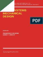 (CISM International Centre for Mechanical Sciences 478) Eniko T. Enikov (Auth.), Francesco de Bona, Eniko T. Enikov (Eds.)-Microsystems Mechanical Design-Springer-Verlag Wien (2006)