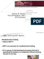 Audit NDT Basics