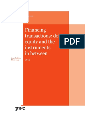 Pwc Guide Financing Transactions Debt Equity Second Edition