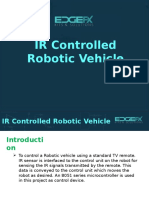 Controlling Robotic Vehicle With IR Remote