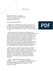 US Department of Justice Civil Rights Division - Letter - tal564