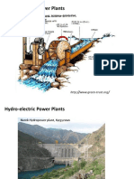 Hydro-Electric Power Plants and Hydraulic Turbines