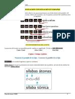 Tema 5 Acentuacion y Puntuacion en Espanol