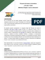 "Proyecto Biblioteca Popular ""José A. Guisasola"""