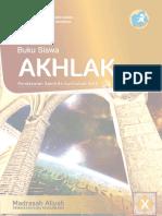 Buku Siswa Akhlak X Keagamaan