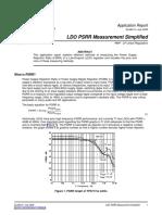 LDO PSRR Measurement Simplified