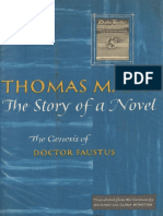 Mann, Thomas - Story of a Novel (Knopf, 1961)