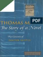 Mann, Thomas - Story of a Novel (Knopf, 1961)
