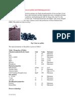 Iron Ore Pellets and Pelletizing Processes