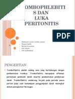 Ppt tromboflebitis dan peritonitis