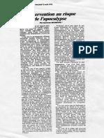 L'intervention au risque de l'apocalype,  1992.pdf