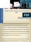 50% Discount on Dairy Product Markets in the World to 2020 (Till30th June 2016)