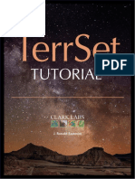 TerrSet Tutorial