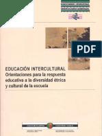 Ed Intercultural - Orientaciones Vasco