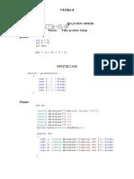 Dvodimenzionalni nizovi i switch