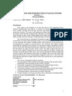 Course Module for Legal Method & ILS
