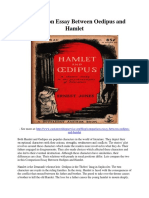 Comparison Essay Between Oedipus and Hamlet.pdf