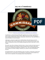 Essay on a Commissary.pdf