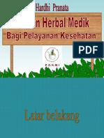 Peranan Herbal Medik Bagi Pelayanan Kesehatan