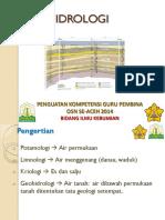 geohidrologi