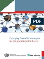 Institute Emerging Green Trends Future of Manufacturing