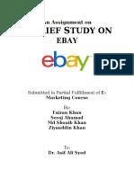 Ebay Assignment