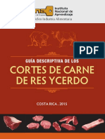 Guia de Cortes de Carne Costa Rica