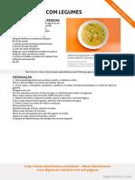 Sopa de Grao Com Legumes SaborIntenso