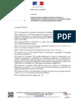 Projet d'arrêté règlementant, en Corrèze, l'utilisation des phytosanitaires près des établissements d'accueil de personnes vulnérables