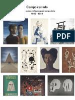 Catalogo de la Exposición 'Campo Cerrado. Arte y poder en la posguerra española. 1939-1953'