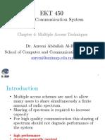 Chapter 04 - Multiple Access Techniques