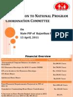 Rajasthan_NPCC_ PIP_2011-12 13..4.11