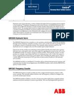 WBPEEUD240010A1 - En Harmony Rack Turbine Control Data Sheet