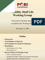 2009 Stability Shelf Life Presentation_Quinlan