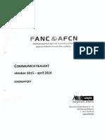 Audit kritisch voor kernwaakhond FANC